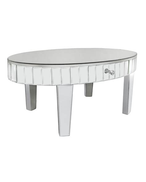Oval Mirrored Coffee Table Oval Mirror Coffee Table Cimc Home