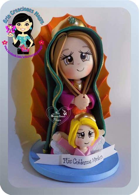 imagen virgen maria en foamy virgen16 cm fofucha fofuchas pinterest