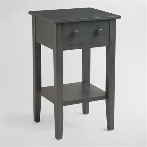 Nightstand Tables by Tobacco Blue Nightstand World Market