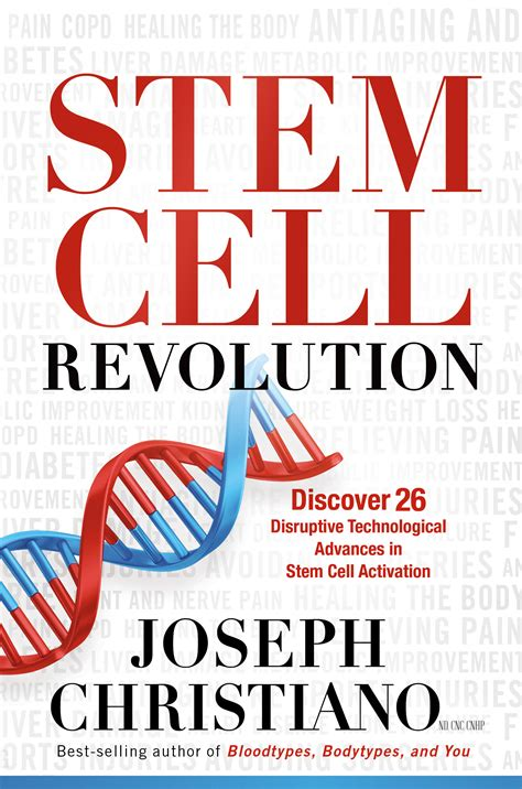 book review stem cell revolution discover 26 disruptive