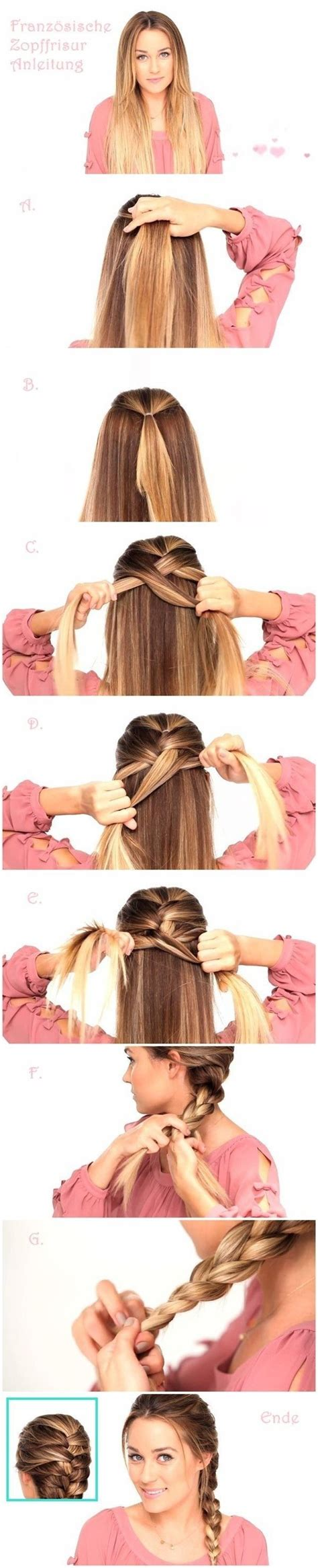 how to 1940s style women french braids 10 french braids hairstyles tutorials everyday hair