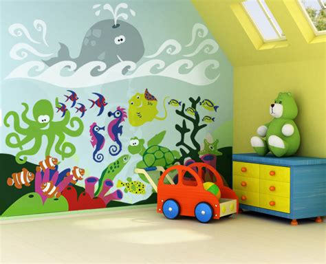 easy wall mural ideas children s mural gallery bedroom ideas for see our