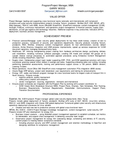 security project manager resume resume ideas