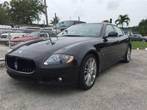 2013 Maserati Quattroporte For Sale by 2013 Maserati Quattroporte For Sale 12 Used Cars From 37 227