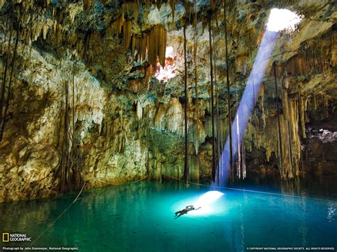 mexican national xkeken cenote photo mexico picture national geographic photo of the day