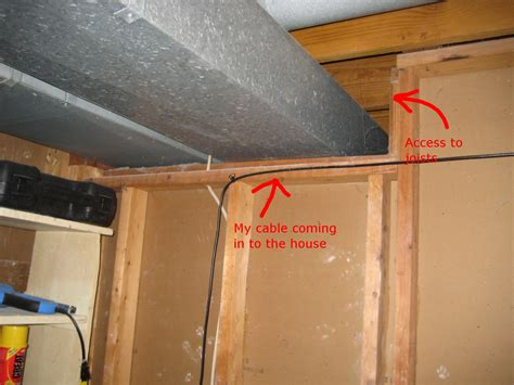 data wiring how do i run cable through my ceiling