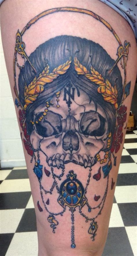freaks tattoo belgium skulls and beautiful on