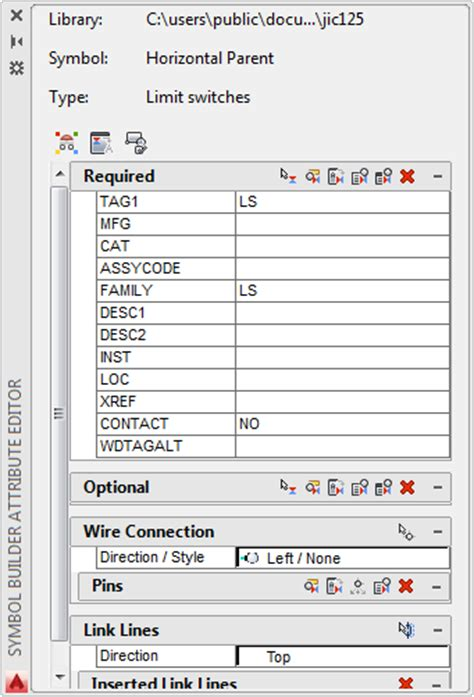 templates autocad electrical autocad electrical symbol builder attribute templates