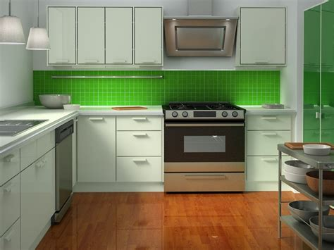 kitchen backsplash green green glass tiles for kitchen backsplashes kitchentoday