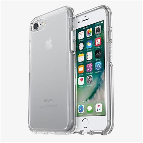 Iphone X Otterbox Symmetry Series Original otterbox symmetry series clear for iphone 8 7 verizon wireless