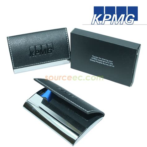 Name Cards For Gifts - kpmg services pte ltd name card holder notebook 171 gift showcase source ec