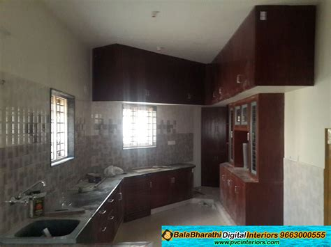 designing design pvc modular kitchen digital pvc kitchen cabinets balabharathi