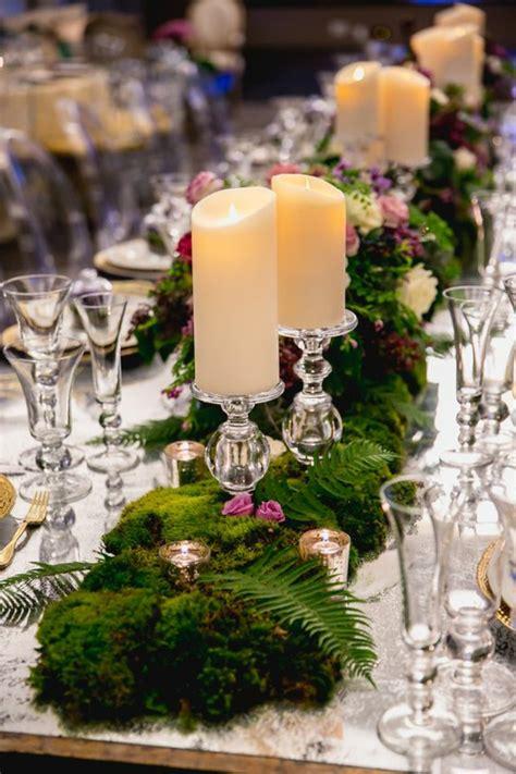 Tischdeko Hochzeit Kerzen by 1001 Ideen F 252 R Deko Mit Moos Zum Erstaunen Und Bewundern