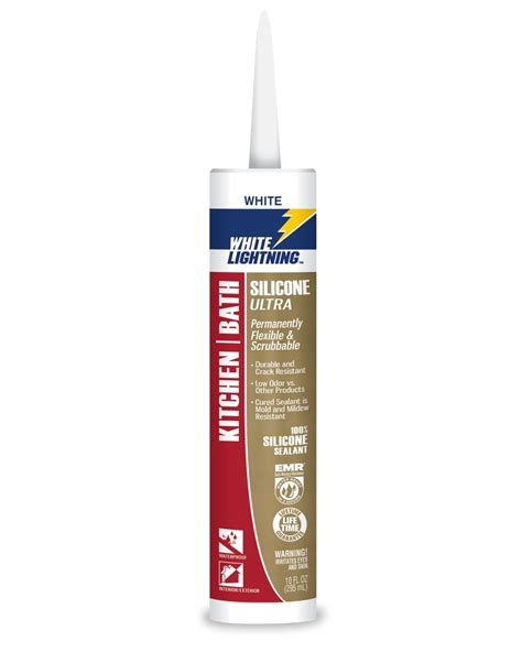 bathtub sealant silicone silicone ultra kitchen and bath white lightning