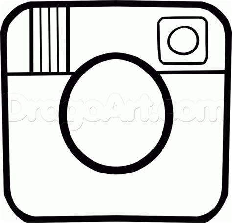 Instagram Logo Coloring Pages | how to draw the instagram logo step by step symbols pop