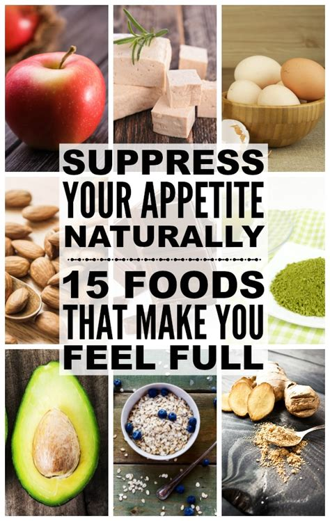 The Feel Diet by Appetite Suppressants 15 Foods That Make You Feel