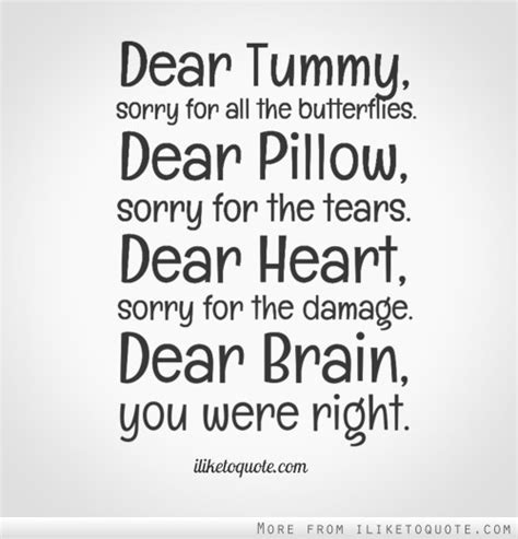 Tears On My Pillow Quotes