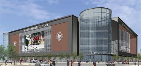 prudential center home of the new jersey devils seton