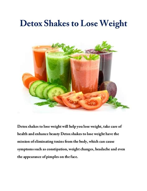 Lose Weight In 5 Days Detox by Detox Shakes To Lose Weight How To Lose Up To 4 Kg In 5