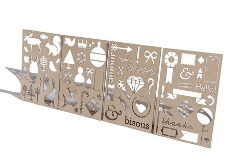laser cutting engraving services stencil cutting