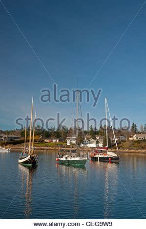 boat mooring vancouver many fishing boats and other commercial ships in aberdeen