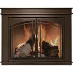 Ideas Fireplace Doors Cozy Stoll Fireplace Doors With Pleasant Hearth Fireplace Screens Photos Home Interior Design