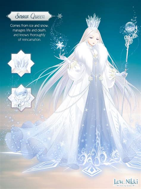 snow queen love nikki dress  queen wiki fandom
