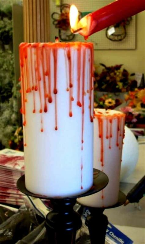 Diy Bloody Candles by 12 Hacks And Decorating Ideas Diy Craft Projects