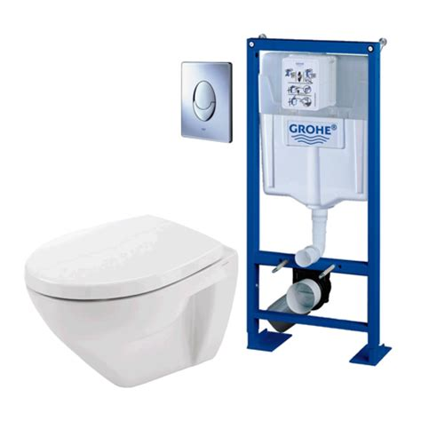 Wc Suspendu Grohe Solido 2783 by Pack Wc Suspendu Compact Grohe Rapid Sl Cuvette Et