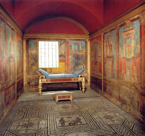 roman bedroom design this is a cubicula with fresco quot best whodunnits in