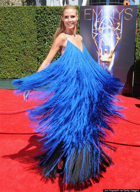 Catwalk To Carpet Emmy Awards by Project Runway The Klum Of Doom S Place