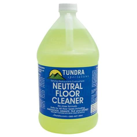 tundra 59239 floor glow neutral floor cleaner etundra