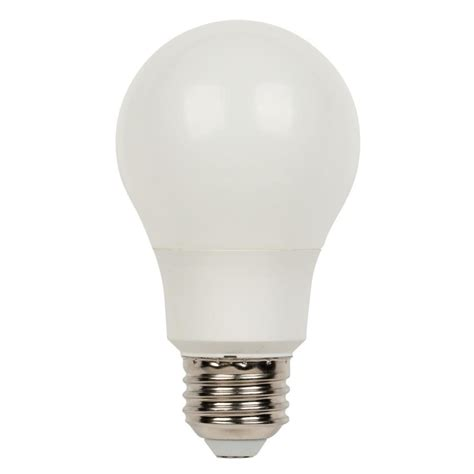 Warm Led Light Bulbs Westinghouse 60w Equivalent Warm White Omni A19 Led Light Bulb 12 Pack 0517300 The Home Depot