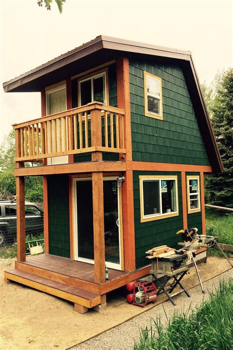 tiny house studio frontier fortress resurfaces with a stunning artist s