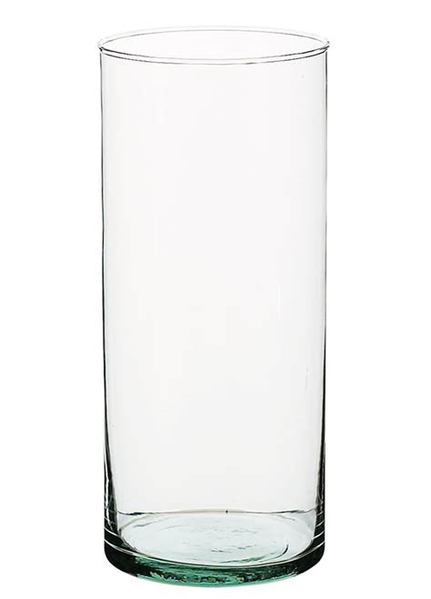 Cylindrical Glass Vases by 8 Quot Glass Cylinder Vase