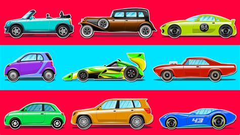 types of cars vehicles for types of cars children s