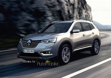renault koleos 2017 red 2017 renault koleos grand kadjar masterfully rendered