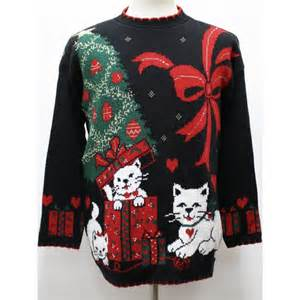 terribly tacky gallery ugly christmas sweater by private eyes