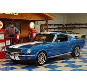 1965 Ford Mustang Fastback 2 – Metallic Blue / White A