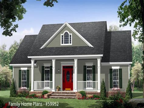 Farmhouse Plans With Porches by Country House Plans With Porches Country House Plans With