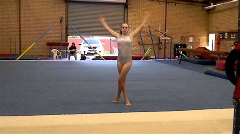 gymnastics floor routine level 5 2012