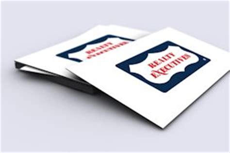 Realty Executives Business Cards Templates by Realty Executives Printing Products Template Gallery