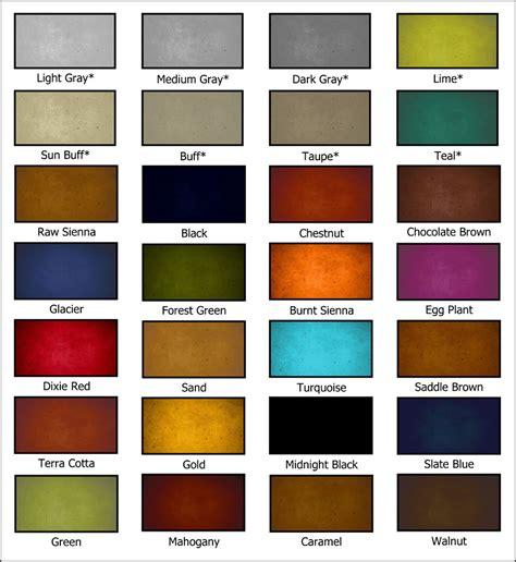 concrete stain colors concrete acetone dye concrete stain colors and stain reviews