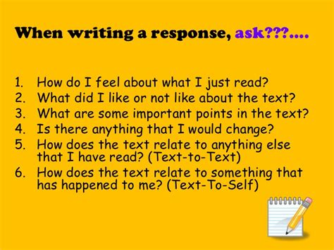 What Is A Response To Literature Essay by Teaching Response To Literature 3rd Grade