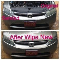 wipe new car restorer 1000 images about wipe new headlight restore on