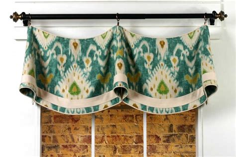 curtains patterns claudine curtain valance sewing pattern pate meadows