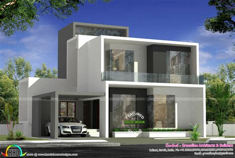 simple contemporary home design kerala home design cute simple contemporary house plan kerala home design