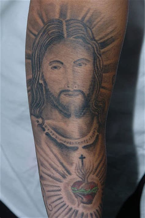jesus arm tattoo designs jesus