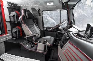Mercedes 6x6 Interior Mercedes Zetros 6x6 Gets Opulent Interior From Carlex