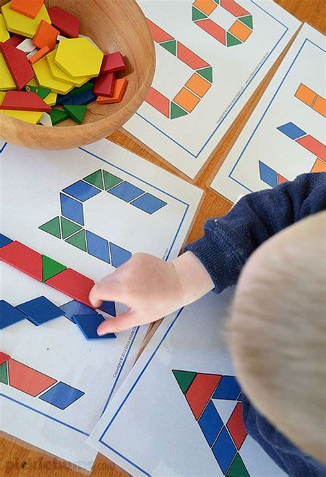 free pattern block games 229 best math pattern block pictures images on pinterest